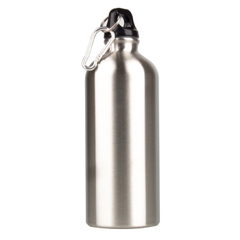 Portable Sports Stainless Steel Water Bottle 600ml Large Capacity Camping Water Bottle
