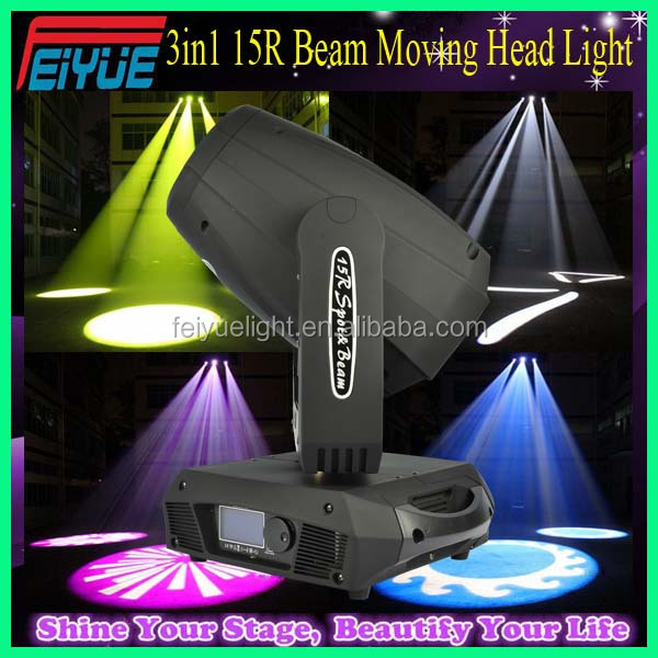 100% Facotry Direct Sale Elation CMY Mixing Beam Wash Spot Moving Head 3in1 330w 15R