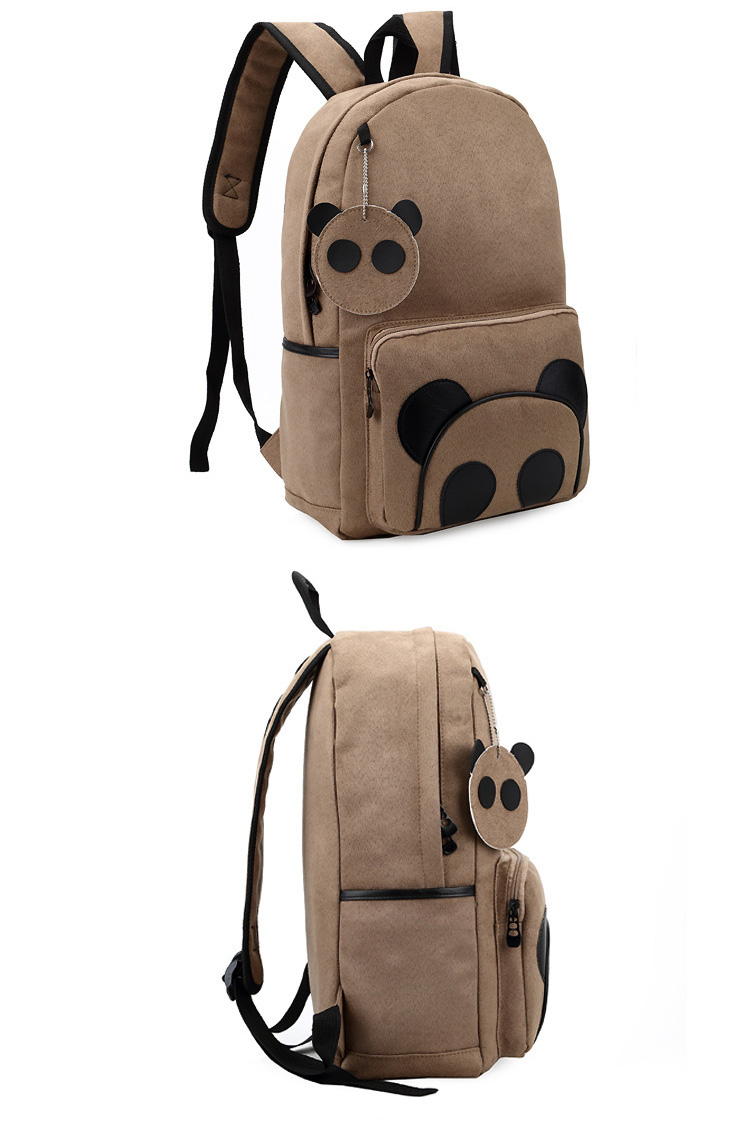 Wholesale kids school bags young child canvas backpack