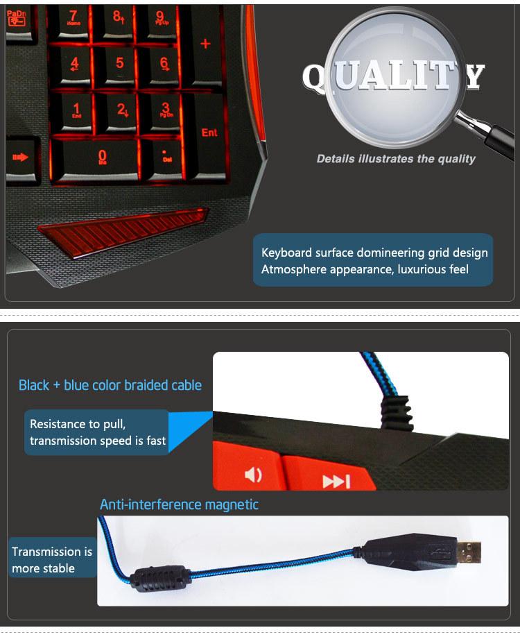 Gaming Wired Light Up Keys Keyboard Pc Cool Keyboards Buy – Light Keyboard Wiring Diagram