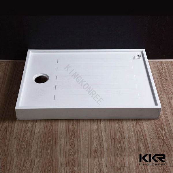 Acrylic Stone Solid Surface Bathroom Shower Tray, Shower Plate