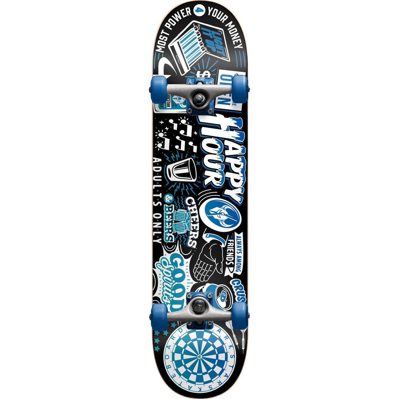 "Darkstar Skateboards Onward Blue Complete Skateboard - 7.8"" x 31.7"""