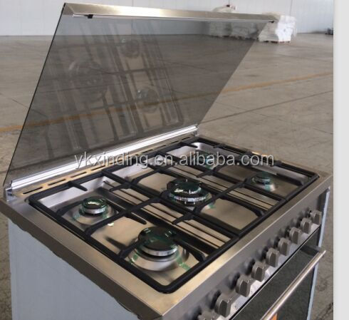 stainless steel electric oven with no radiation
