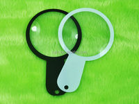 plastic mini magnifying glass, unbreakable plastic magnifying glass