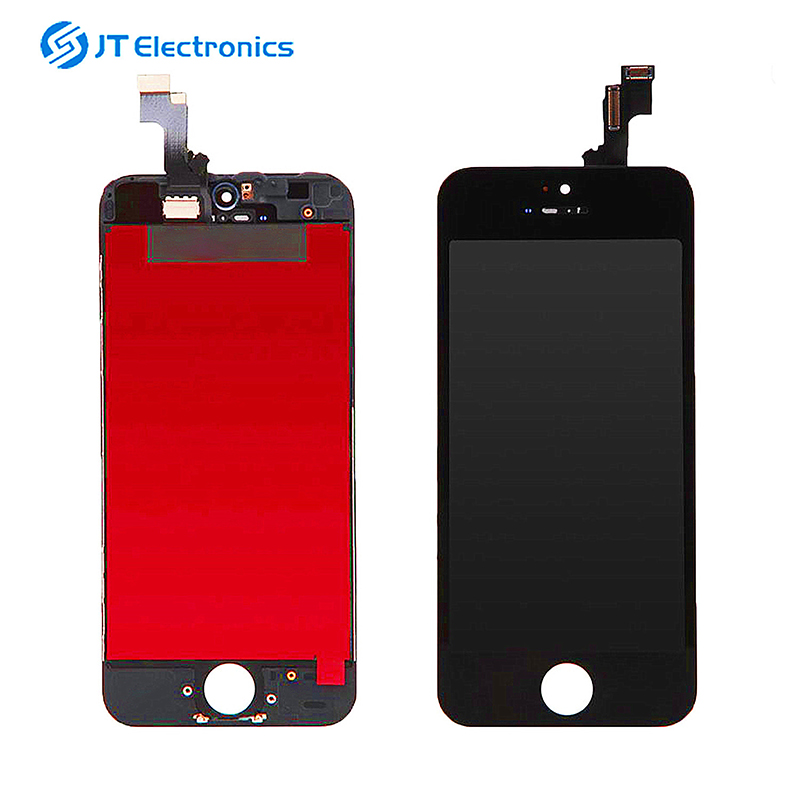 Lcds do telefone móvel ecran para apple iphone 5s a1429 display lcd touch screen digitador foxccon display lcd para iphone 5s