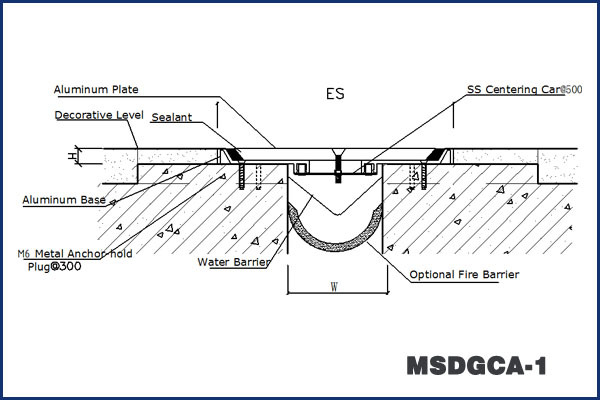 Recessed Concrete Driveway Expansion Joint Repair With