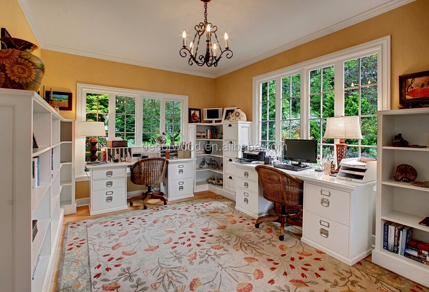 Farmhouse Style Functional Wooden Home Office Furniture