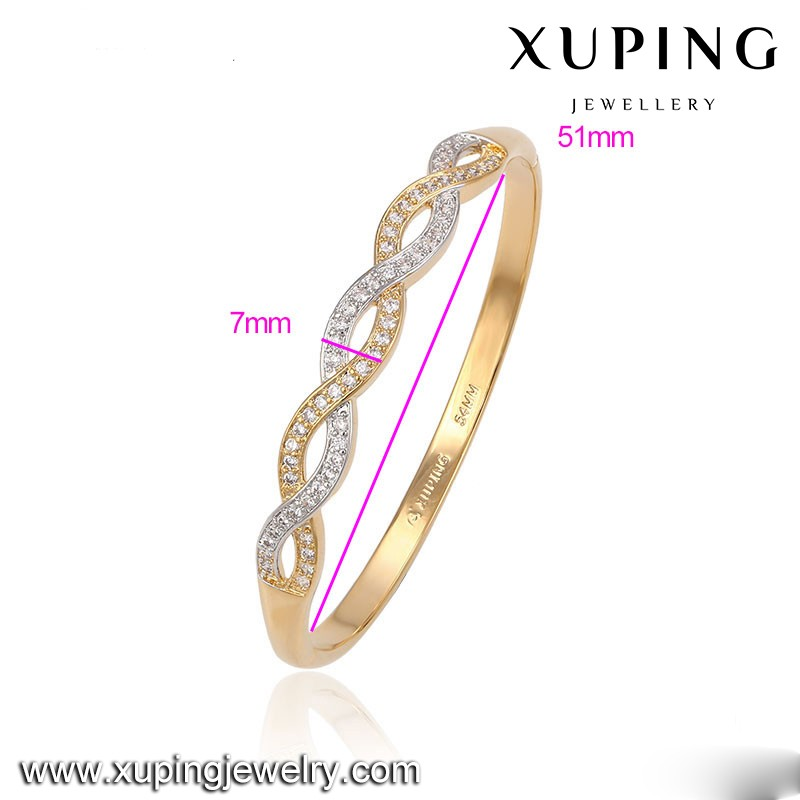 Guangzhou factory custom fashion jewelry bangle bracelet