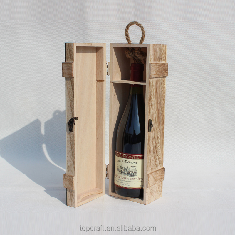 2015 alibaba china wood box for wine handmade wooden for Timber wine box