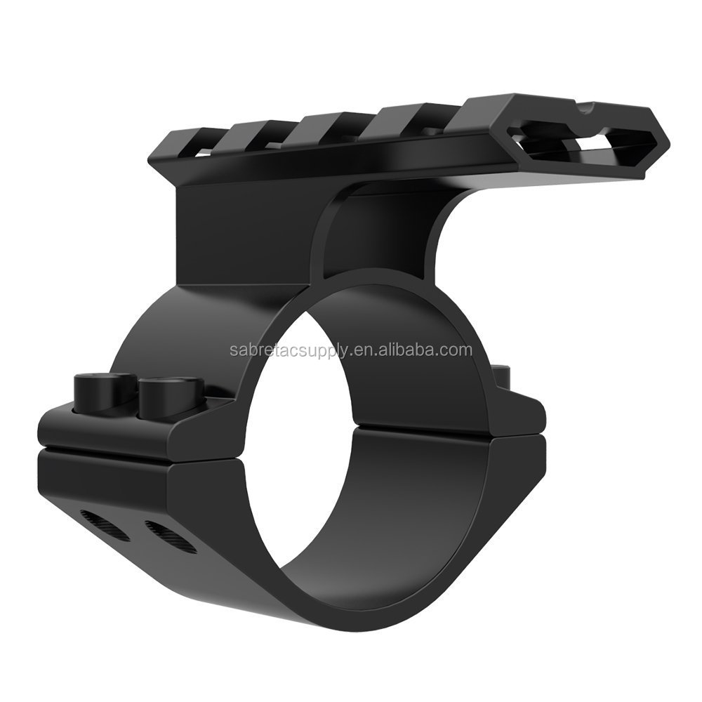 "Rifle Scope Mount Barrel 1""/ 25.4mm 30mm Ring Adapter w/ 20mm Scope Weaver Picatinny Rail Mount with Insert caza"