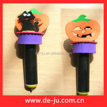 School Stationery Ball Pen Shaped EVA Promotion Gift