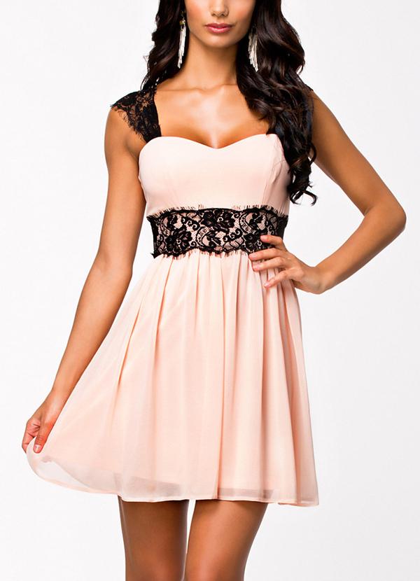 783774f2659c Get Quotations · 2015 Summer Style Hammock Women Skater Dress Radiant Lace  Embellished Cute Summer Dress B5397 Eshow