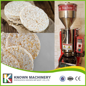 popular Korean rice floating extruders Snack rice cake popping machine with best price