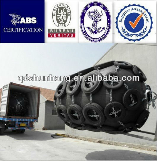 China supplier wholely wrapped floating jetty rubber fender