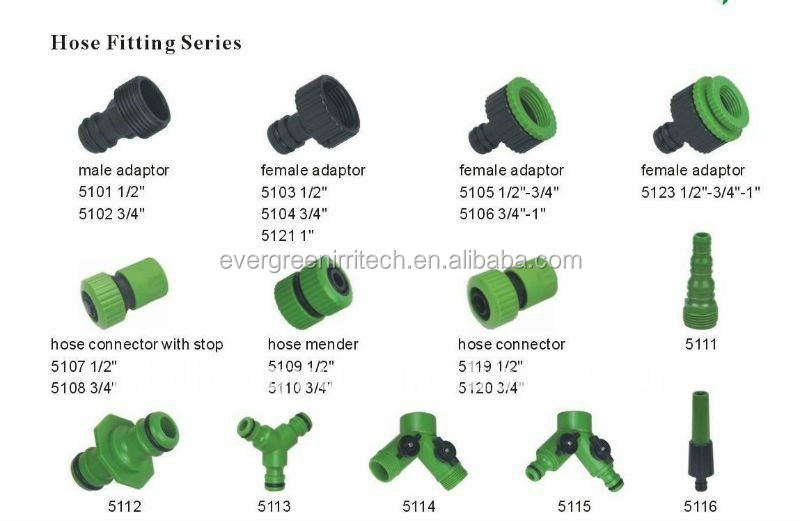Abs Garden Hose Fitting Set Quick Connect Water Fittings Buy