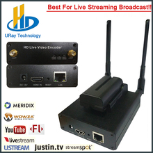 h264 Mini box Battery WIFI/HDM I/SDI/AV encoder for iptv solution