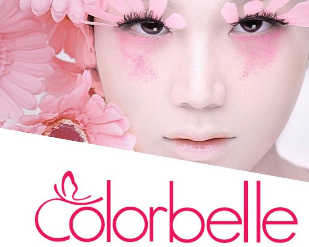 Wholesale Colorbelle nylon hair 5PCS cosmetic brush set ready to ship