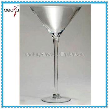 Klar Martini Vase Fur Hochzeit Dekoration Glas Herz Buy Vase Fur