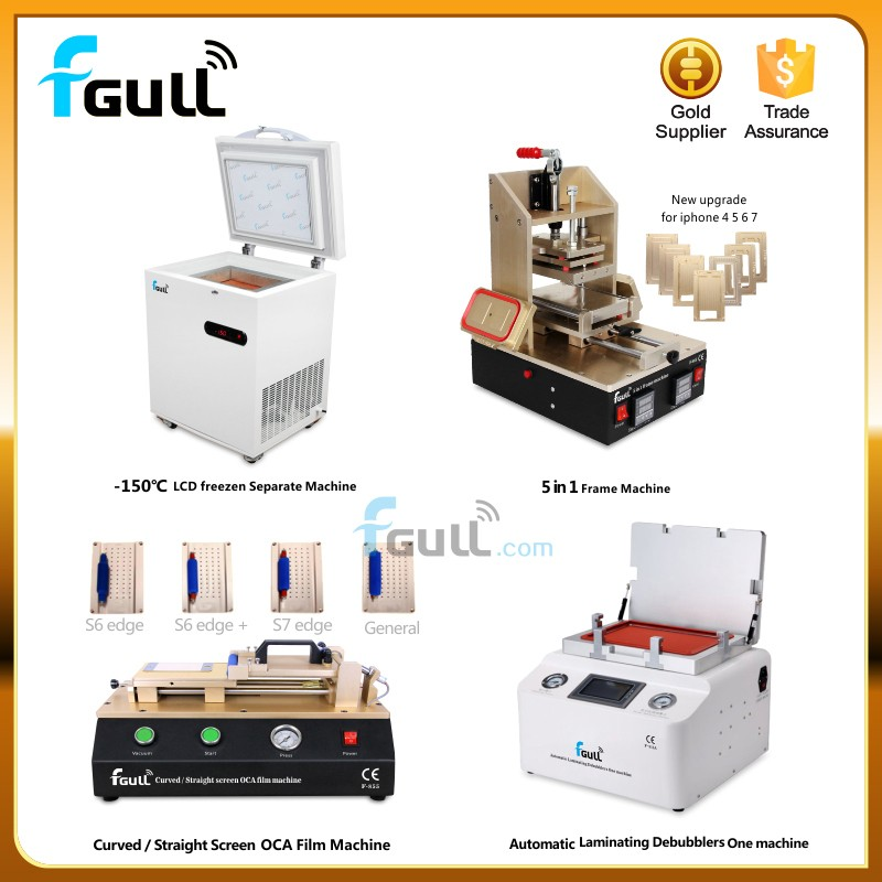 Full set laminating mobile lcd refurbish machine Lowest Price