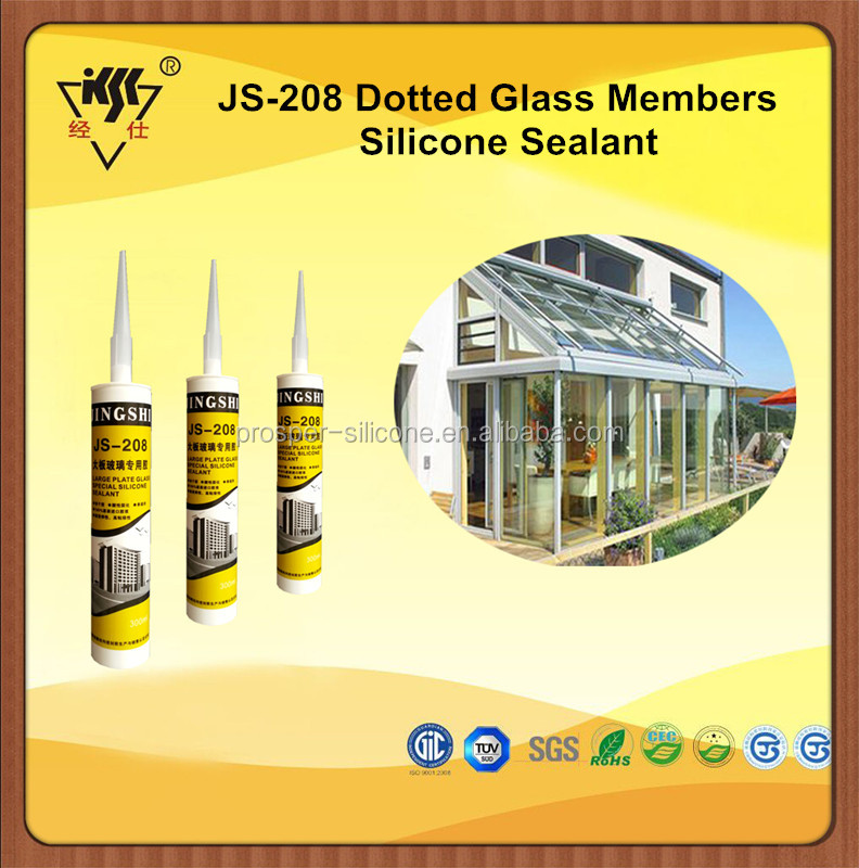 China Manufacturer Acetoxy Sun House Glass Silicone Sealant