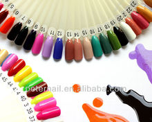 2017 hot selling popular colors soak off gel nail polish factory wholesale