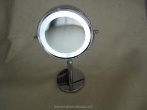 make up magnifier with 12 LED light