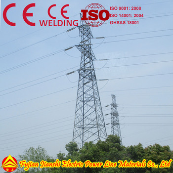Steel Tower Plant in China (power transmission and telecom)