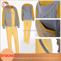 2016 latest design fashion velour sports brand cheap custom tracksuits for lady