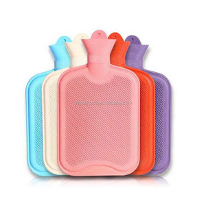 Pink BS Standard Rubber Hot Water Bottle / hot cold heat pack bag