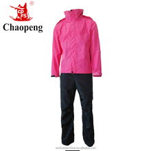 Pink color women pants and trousers with waterproof