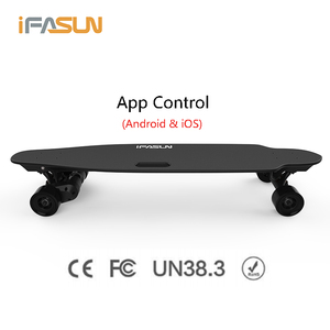 2018 Ifasun New 45KMH 1000W*2 Long Board Boosted Longboard 20KM Range Remote Control Adult Electric Skateboard