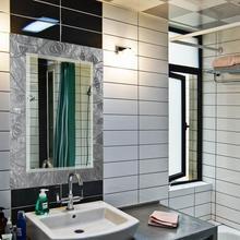 espejo de acrlico venta caliente ronda moderno cuarto de bao espejo con luz led
