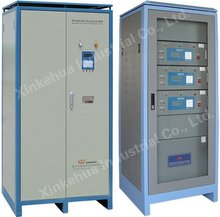 Microprocessor controlled high rate discharge machine