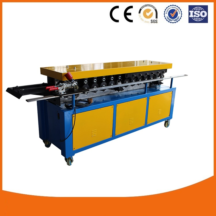 Factory instock cheap price TDF/TDC flange forming machine,Square HVAC duct making machine, Air Duct flange rolling machine