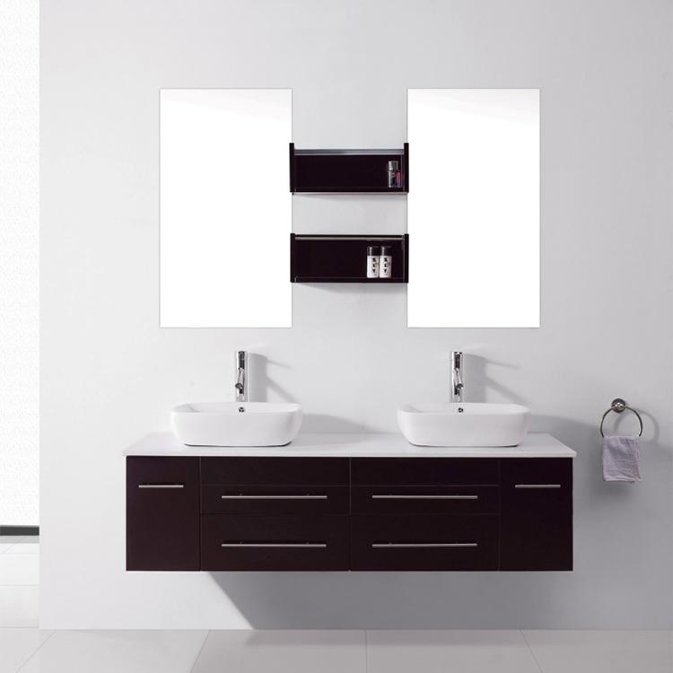 . Modern Wall Hung Bathroom Cabinet With Mirror Wall Mounted Bathroom Vanity  Side Cabinet   Buy Wall Amounted Bathroom Vanity With Mirror Contemporary