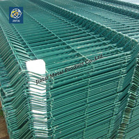 high quality PVC coated welded mesh fence 4x4 welded wire mesh fence
