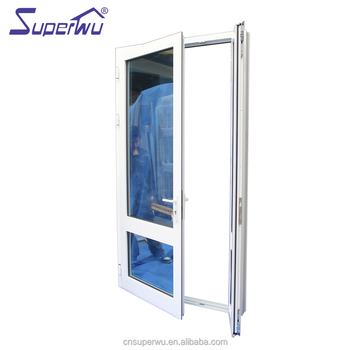 Shanghai Upvc Window And Door Manufacturer Tinted Glass Upvc Front