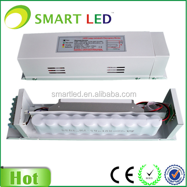 Led Emergency Lighting Rechargeable Battery Backup 60w Panel View Smartled Product