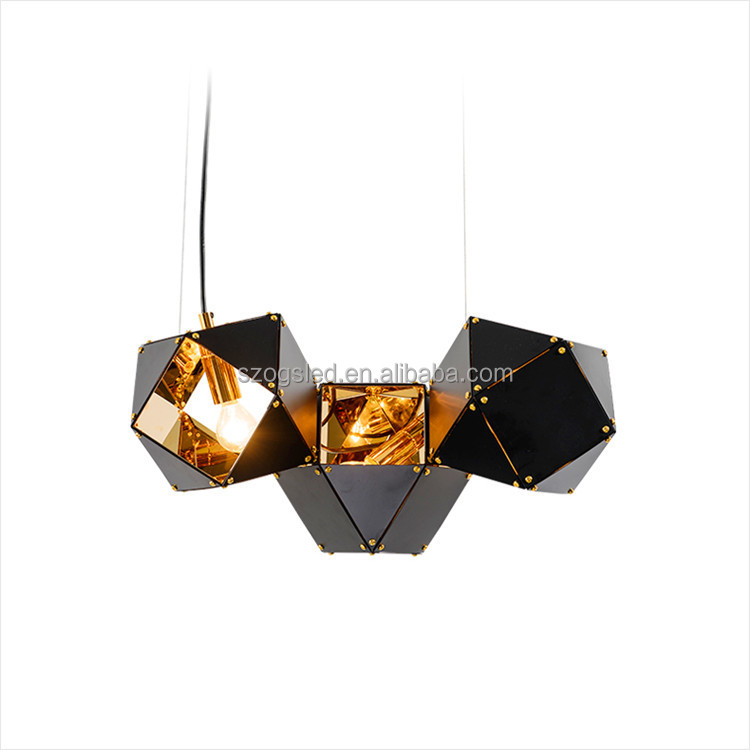 Nordic postmodern factory wholesale metal LED pendant light for modern design house