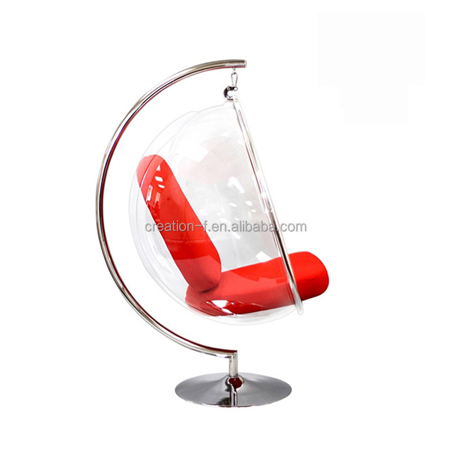 New Clear Acrylic Hanging Bubble Ball Chair In Low Price
