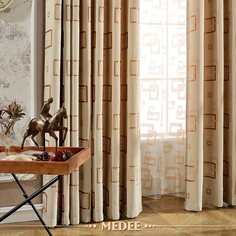Home textile decoration wholesale European Style Curtains