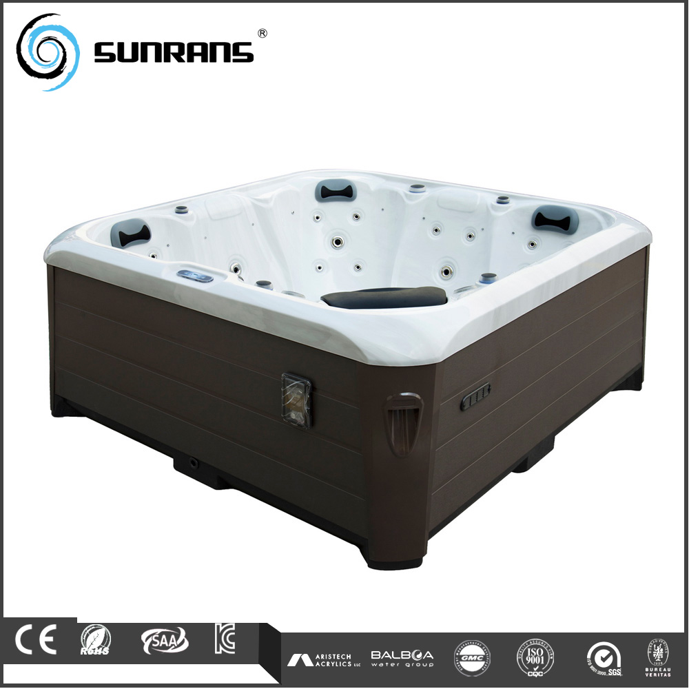 Simple design function whirlpool hot tub spa with 29 massage jet