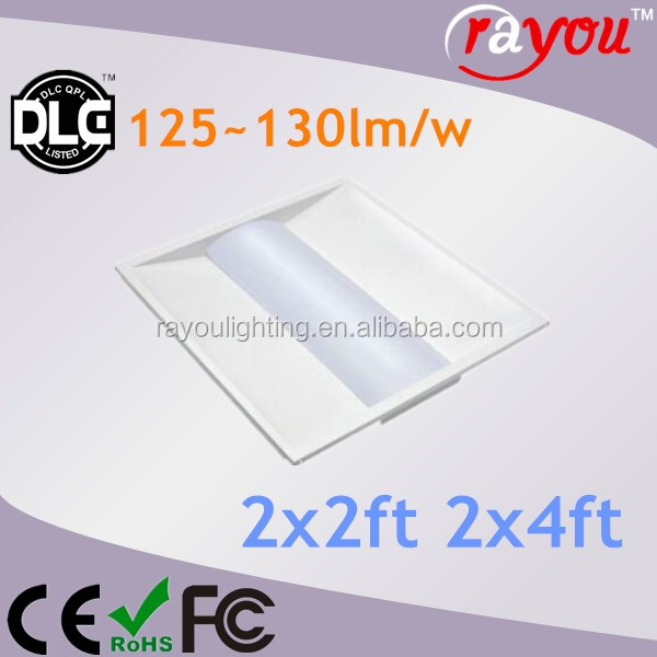 2x2 2x4 Led Troffer Light Dlc Listed,2x4 Led Recessed Troffer For ...