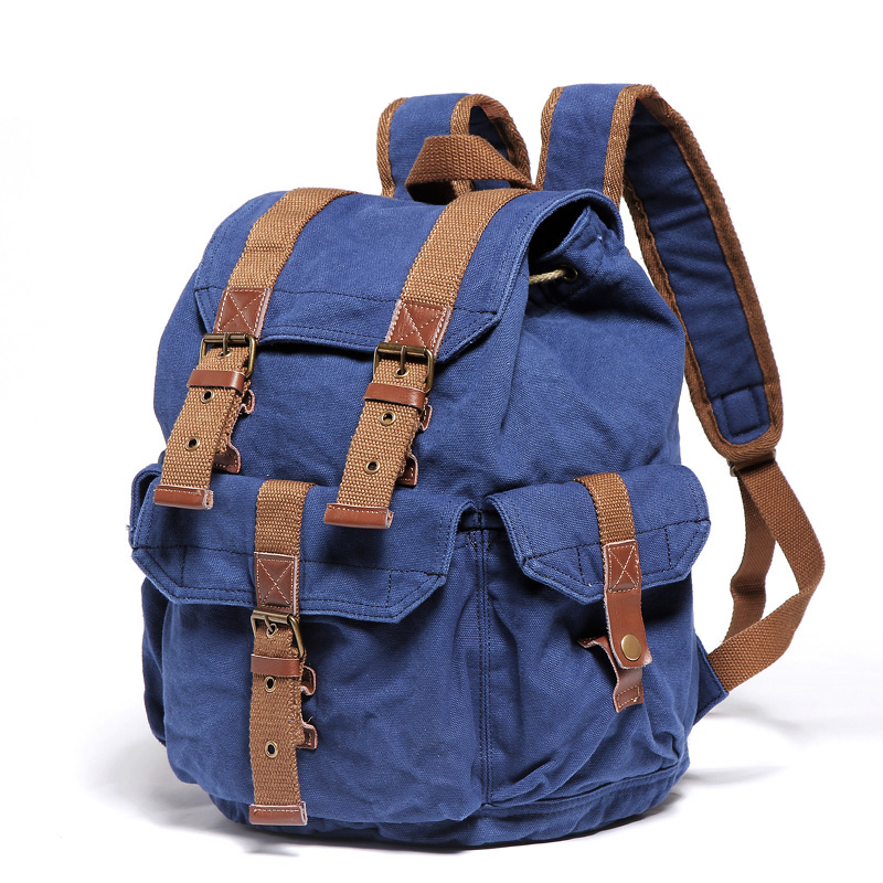 2351 Small Size Cotton Washed Canvas Backpack - Buy Canvas Backpack ... c399b3f7bf8d9