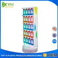 Freestanding Retail Shop Fixture Acrylic Cell Phone Case Promotion Mobile Accessories Display Rack