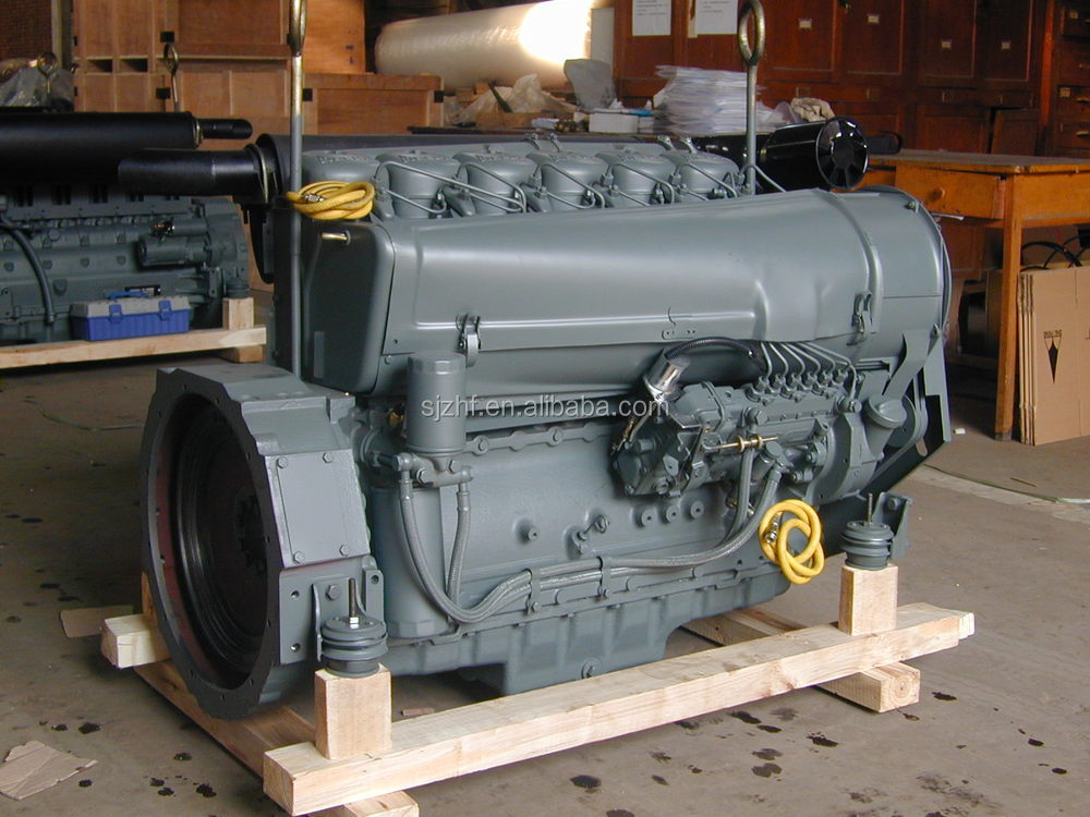 Deutz F6l912 6 Cylinder 65hp 1500rpm Air Cooled Diesel