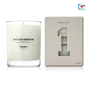 Custom White Paper Box For Candle/Paper Wax Candle Box Manufacture