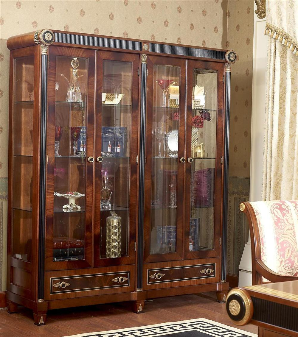 0010 European Classic Furniture Wooden Cabinet Design For