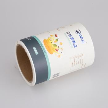 Custom printed logo and waterproof adhesive paper sticker label printing for bottle label