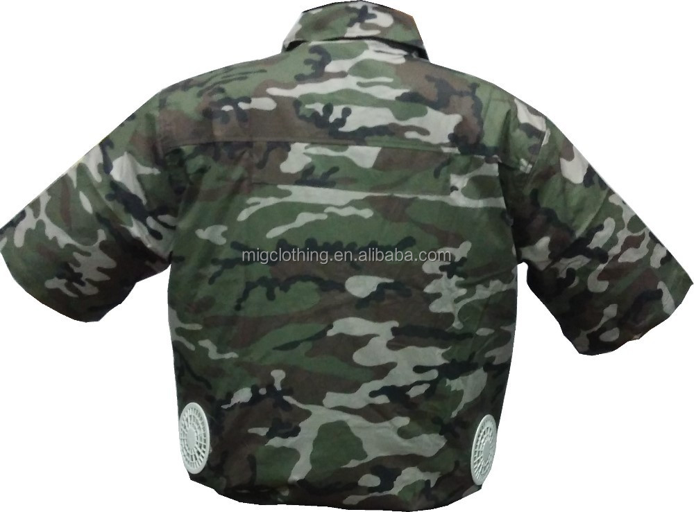 Air Cool Jacket Clothes With Air Conditioner